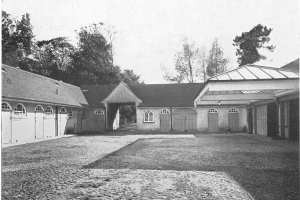 Aldwick Place, the Garage and Stable Block 1947