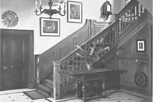 Aldwick Place Jacobean Staircase 1947