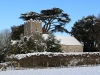 St Mary's Sennicotts in the snow.
