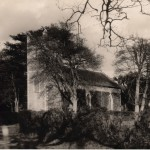 St Mary's in 1929 with a tidier hedge.