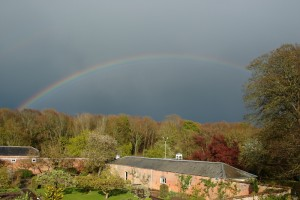 Rainbow over Chichester