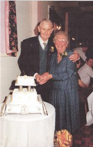 Victor & Mary Willis celebrating their Golden Wedding Anniversary